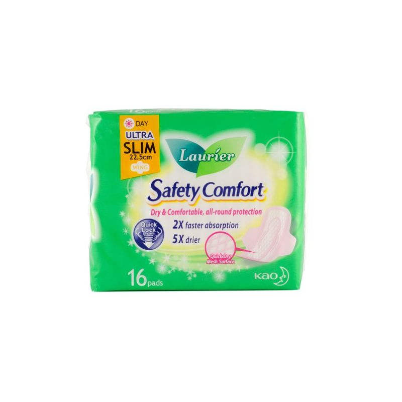 Laurier Safety Comfort Ultra Slim Day, 16pcs