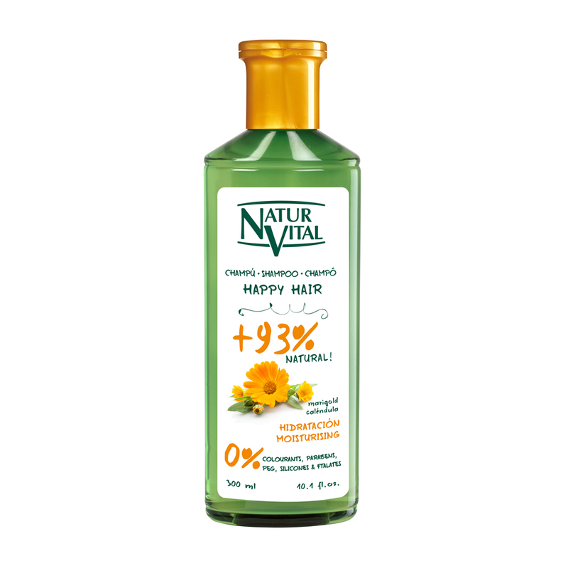 Natur Vital Happy Hair-Moisturising Shampoo, 300ml