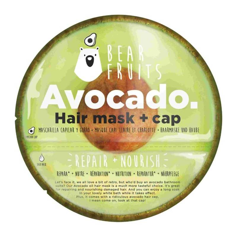 Bear Fruits Avocado Repair Nourish Hair Mask & Hair Cap 20ml