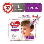 Huggies Platinum Pants L, 27pcs