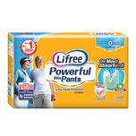 Lifree Powerful Slim Pants Anti-Bac L, 10pcs