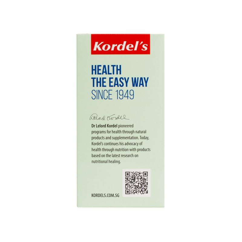 Kordel's Ginkgo 2500 with Brahmi, 60 tablets