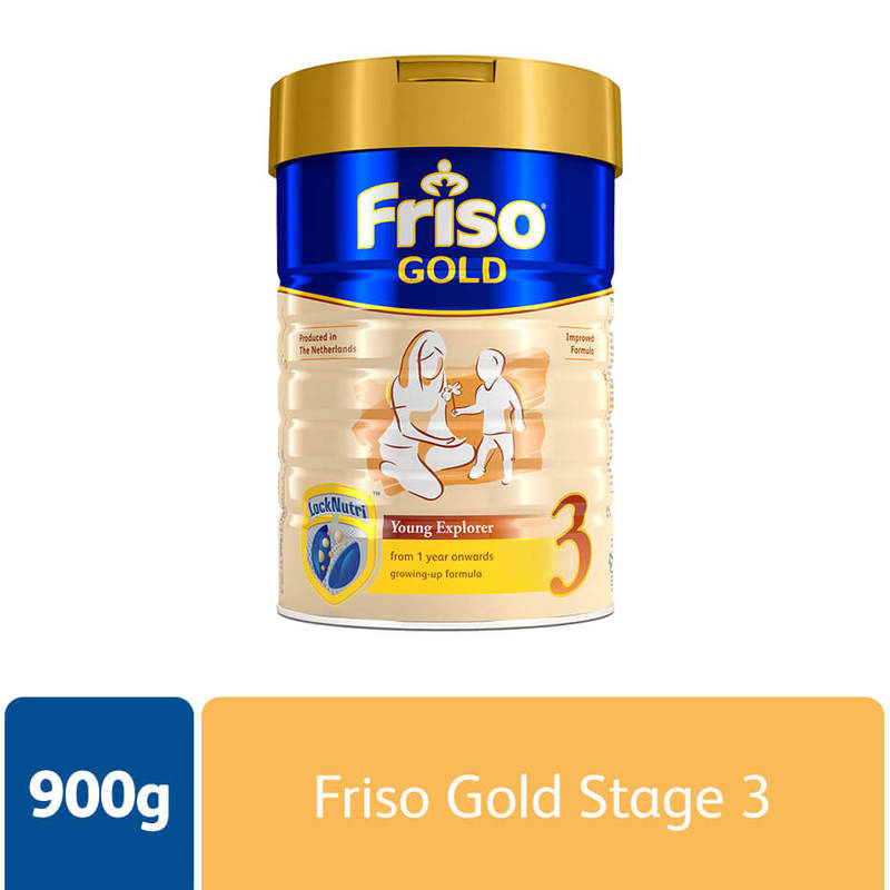Friso Gold Stage 3, 900g
