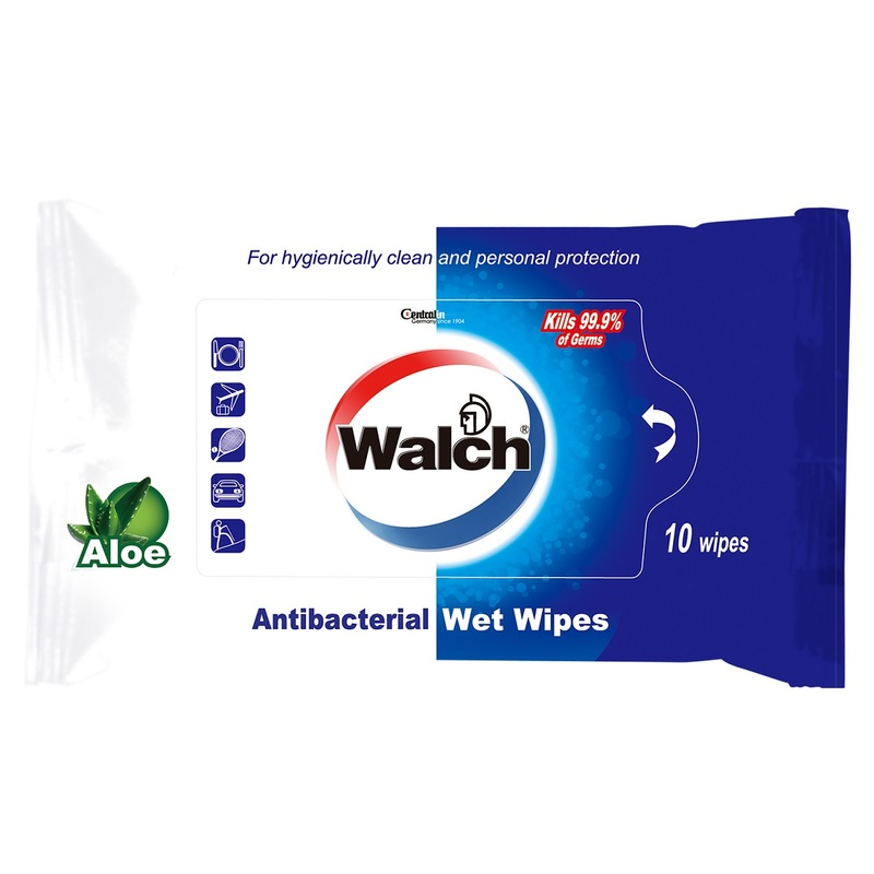 Walch Wet Wipes 10pcs