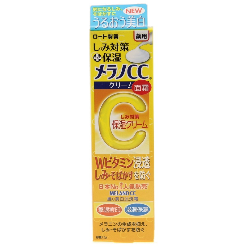 Mentholatum Melano CC Bright Vitamin C Moist Cream 23g