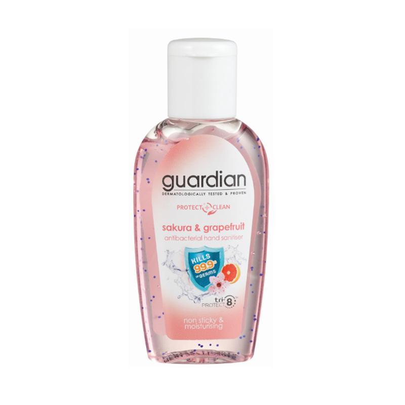 Guardian Antibacterial Hand Sanitiser Sakura & Grapefruit, 50ml