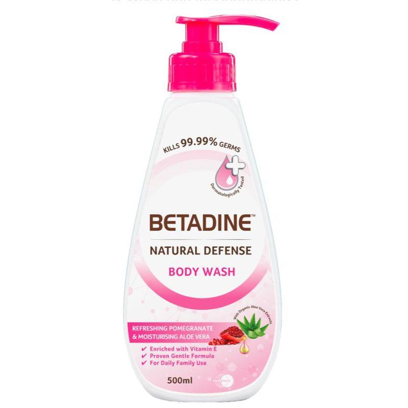 Betadine Pomegranate bodywash 500ml