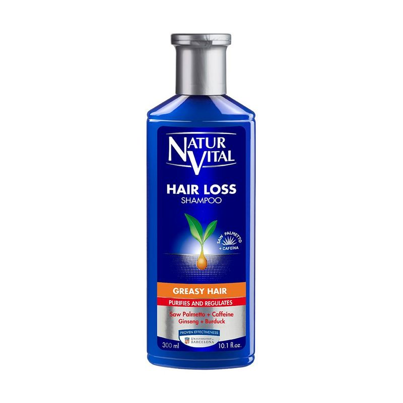 Natur Vital Hair Loss Shampoo Greasy, 300ml