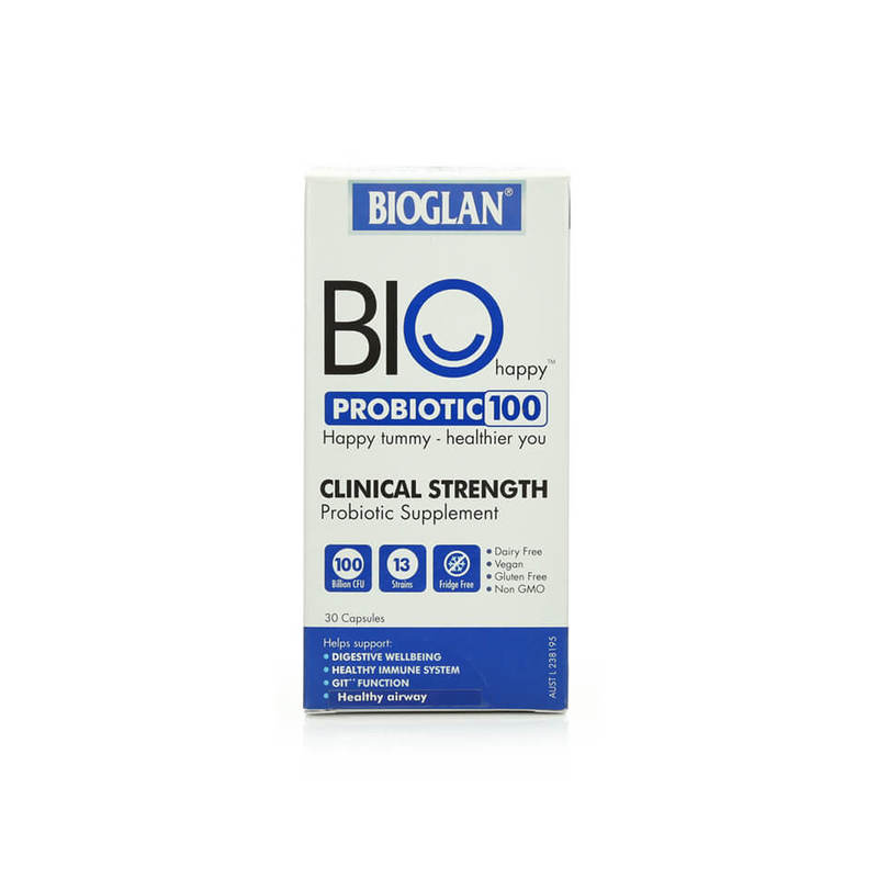 Bioglan Happy Probiotic 100B, 30 capsules