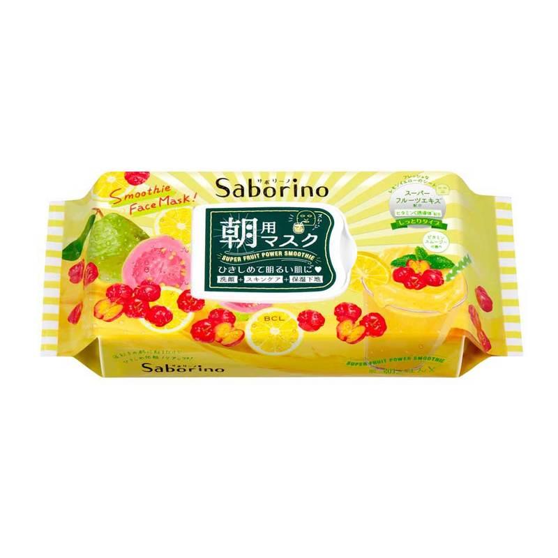 Saborino Morning Facial Sheet Mask Vitamin Smoothie | Guardian Singapore