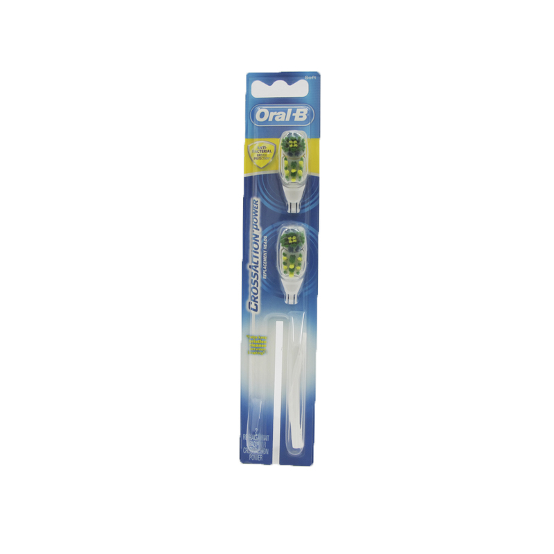 Oral-B CrossAction Power Brush Heads Toothebrush Refills