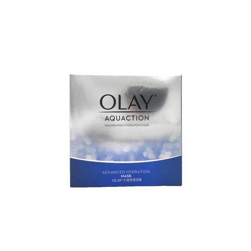 Olay Aquaction Nourishing Hydration Mask 5pcs