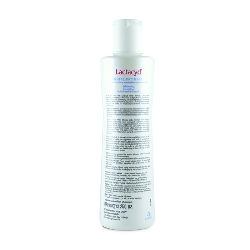 Lactacyd White Intimate Feminine Wash, 250ml