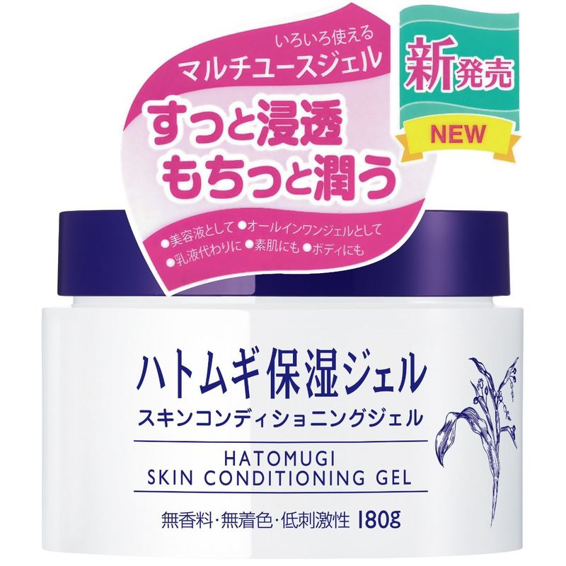 I-MJU Hatomugi Skin Conditioning Gel 180g