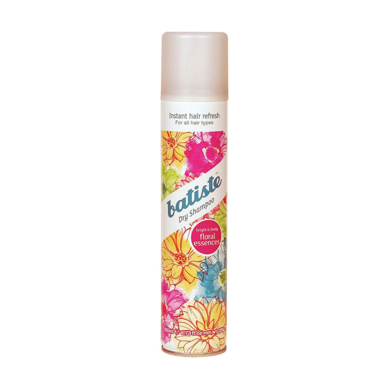 Batiste Dry Shampoo Floral Essence, 200ml