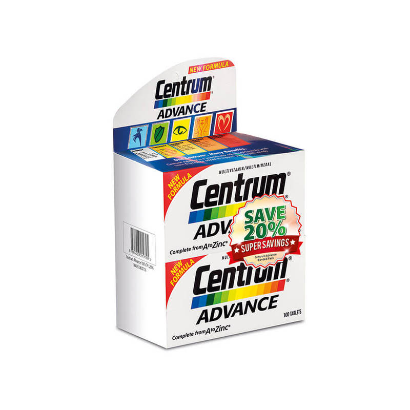 Centrum Advance Multivitamin Twin Pack