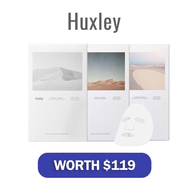 Huxley Beauty Box worth $119