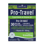 Natures Aid Pro-Travel 30 Billion Bacteria, 15 capsules + 15 tablets
