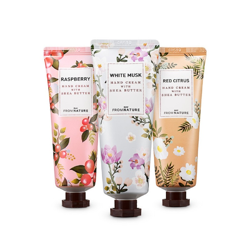 Fromnature Hand Cream with Shea Butter Gift set 50ml x3