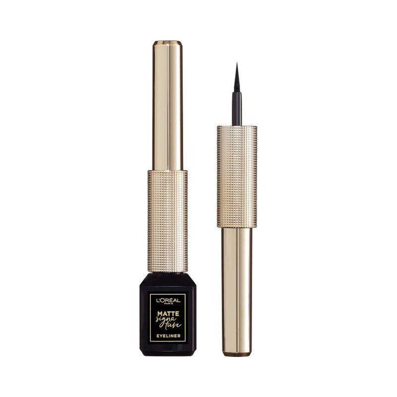 L'Oreal Paris Matte Signature Liner 01 Black, 2.5g
