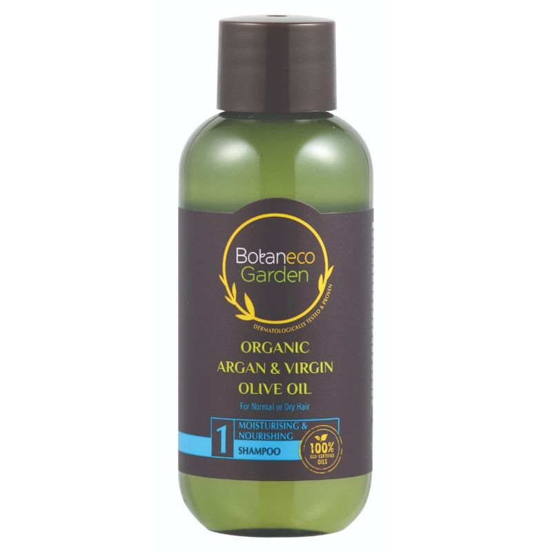 Botaneco Garden Argan Olive Shampoo Moistursing & Nourishing,  60ml