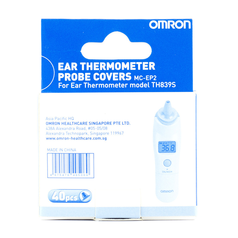 Omron Ear Thermometer Probe Covers TH839S, 40pcs