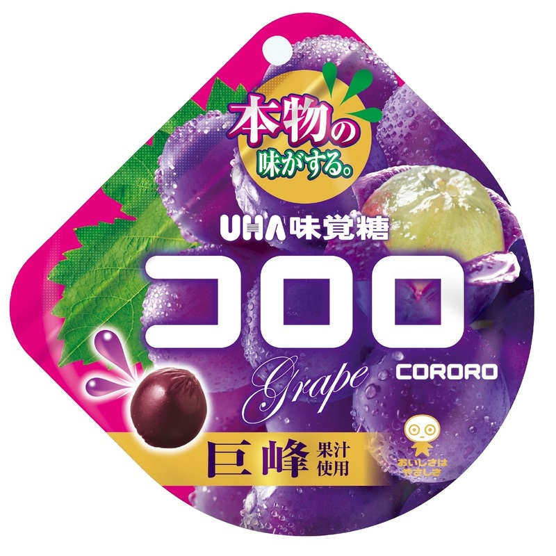 Cororo Grape Juice Soft Candy  48g