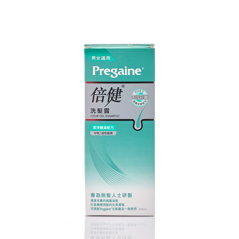 Pregaine Clear Gel Shampoo 200mL