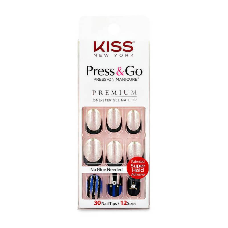 Kiss New York Press & Go Gel Nails PPO08K