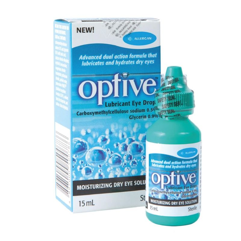 Allergan OPTIVE Lubricant Eye Drop, 15ml