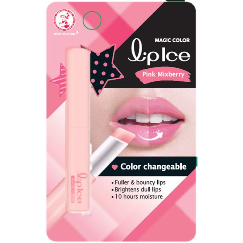 Mentholatum Lipice Magic Color Pink Mixberry, 2g