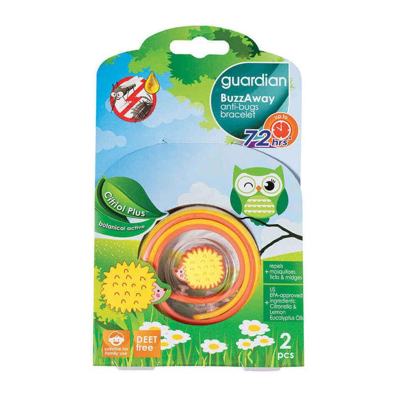 Guardian Buzzaway Bracelet Citriol Plus, 2pcs