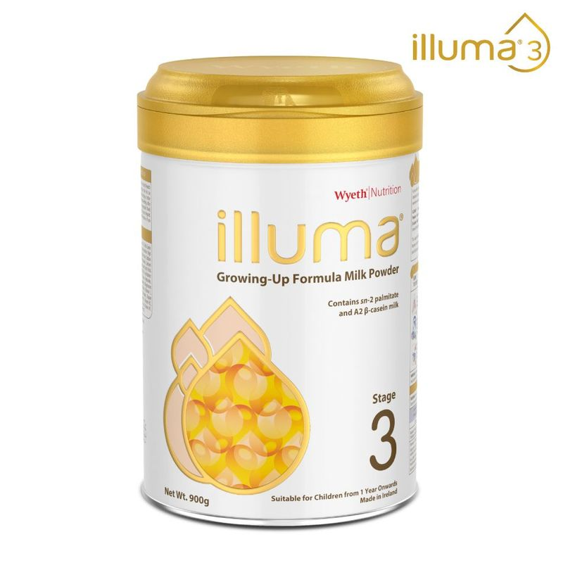 Illuma Stage 3 Growing Up Baby Formula 900g