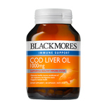 Blackmores Cod Liver Oil 1000mg, 80 capsules