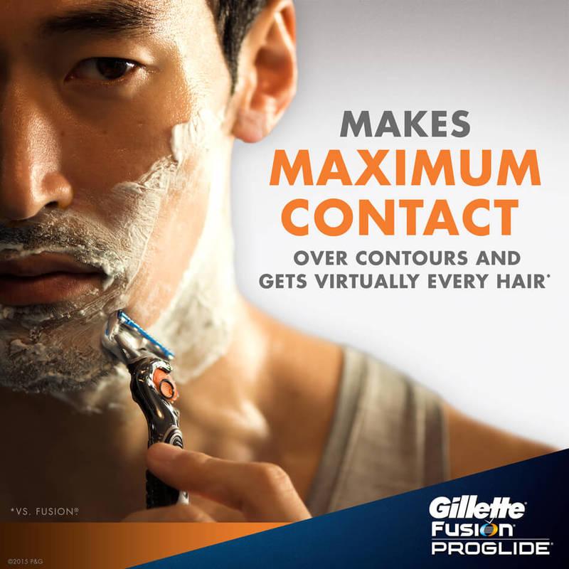 Gillette Fusion ProGlide Refill, 4pcs