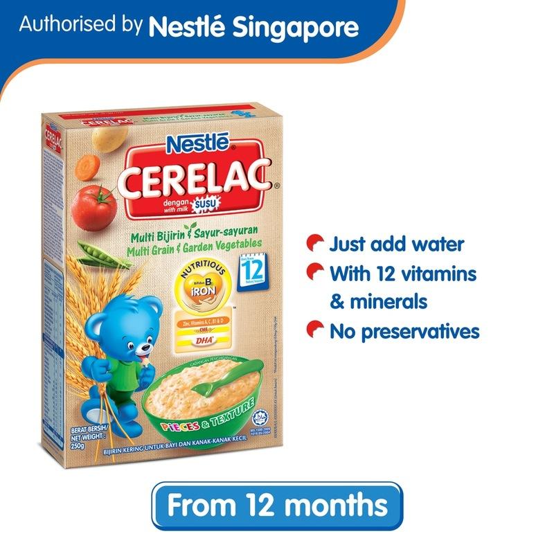 Cerelac Nestle Multi Grain & Garden Vegetables, 250g