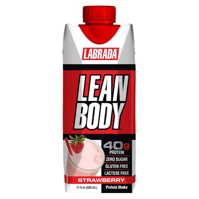 Labrada Lean Body RTD Strawberry 500ml