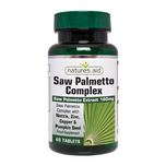 Natures Aid Saw Palmetto Complex, 60 tablets