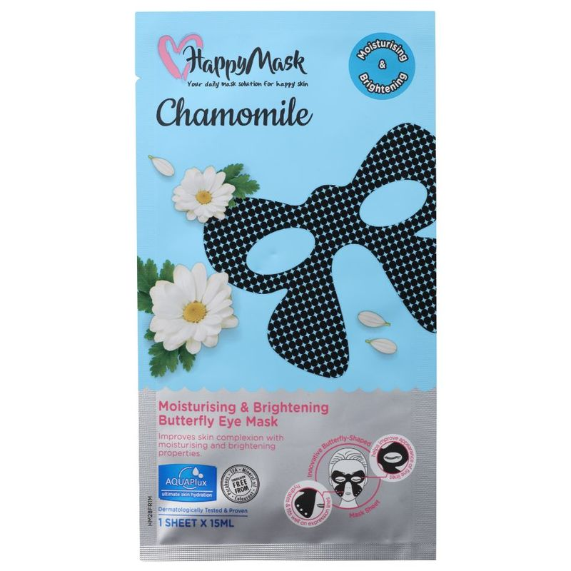 HappyMask Chamomile Moistursing & Brightening Eye Mask