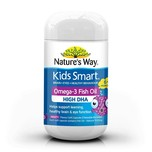 Nature's Way Kids Smart Burstlets Omega-3 Fish Oil Fruity, 50 capsules