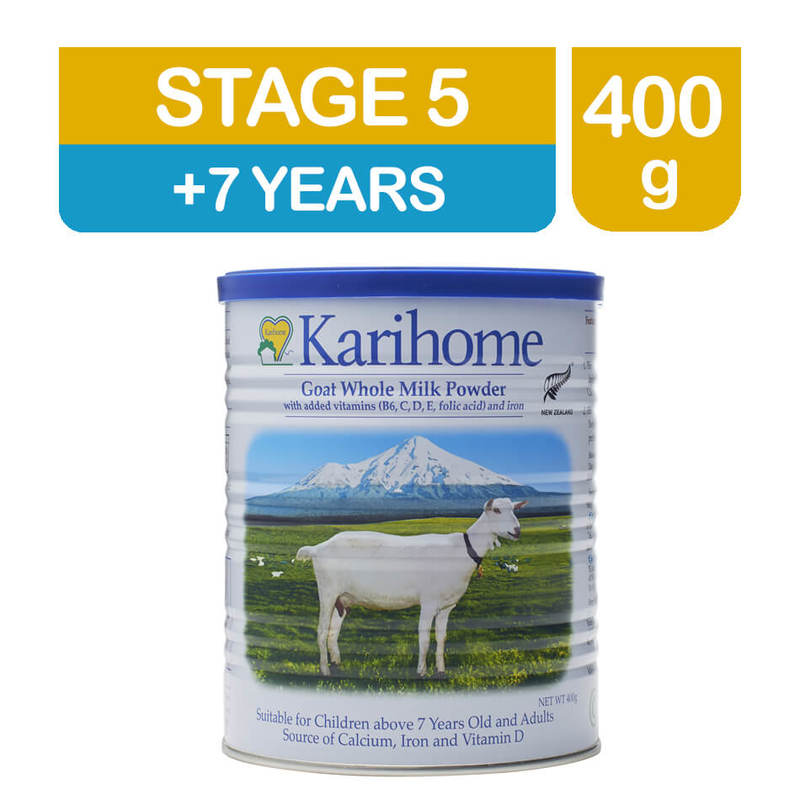 Karihome Goat Whole Milk Powder Stage 5, 400g