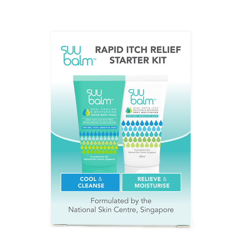 Suu Balm Rapid Itch Relief Starter Kit