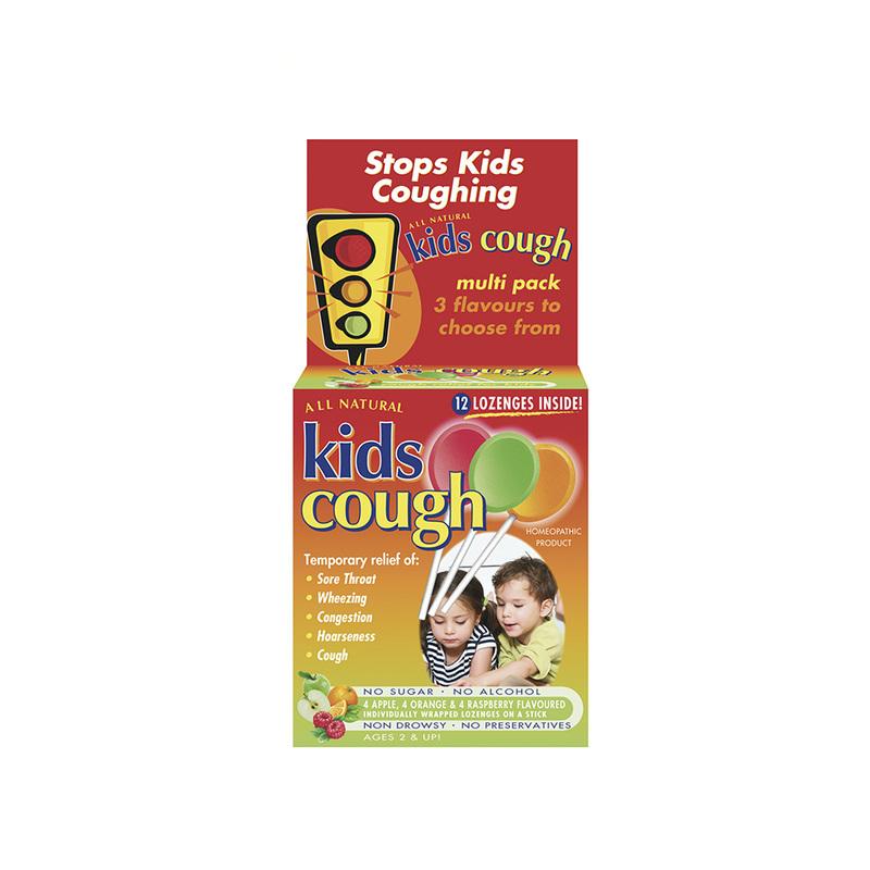 All Natural Kids Cough Lozenges, 12pcs