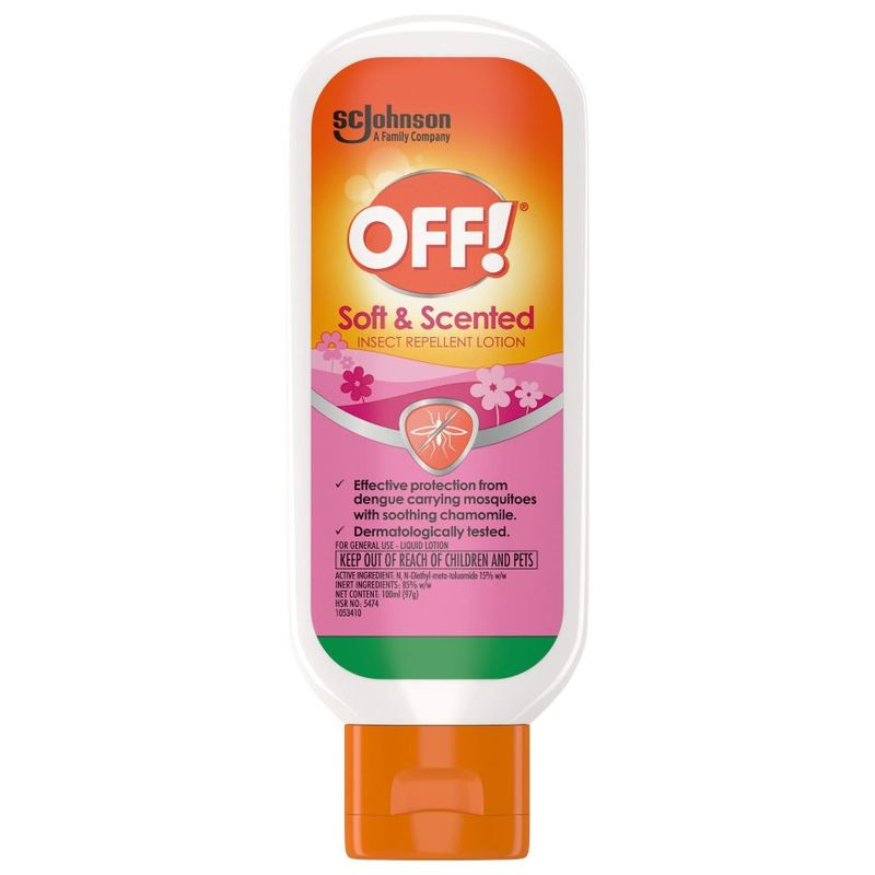 OFF! Insect Repellent Soft & Scented Lotion, 100ml