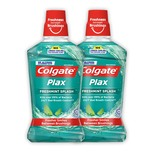 Colgate Plax Mouth Wash (Fresh Mint) Twin Pack 500mLx2bottles