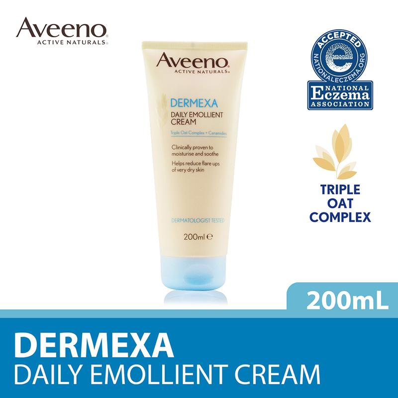 Aveeno Dermexa Daily Emollient Cream, 200ml
