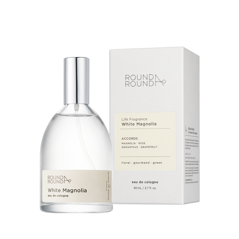 Round A'Round Life Fragrance [White Magnolia] 80ml