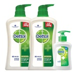 Dettol Shower Foam (Pine) 950gx2