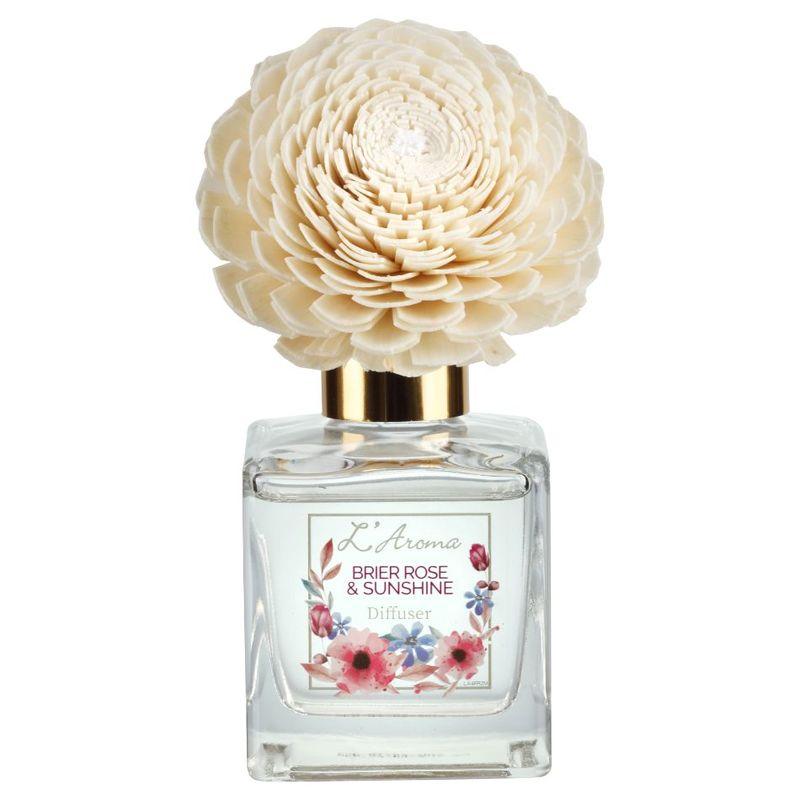 L'Aroma Brier Rose & Sunshine Diffuser, 120ml