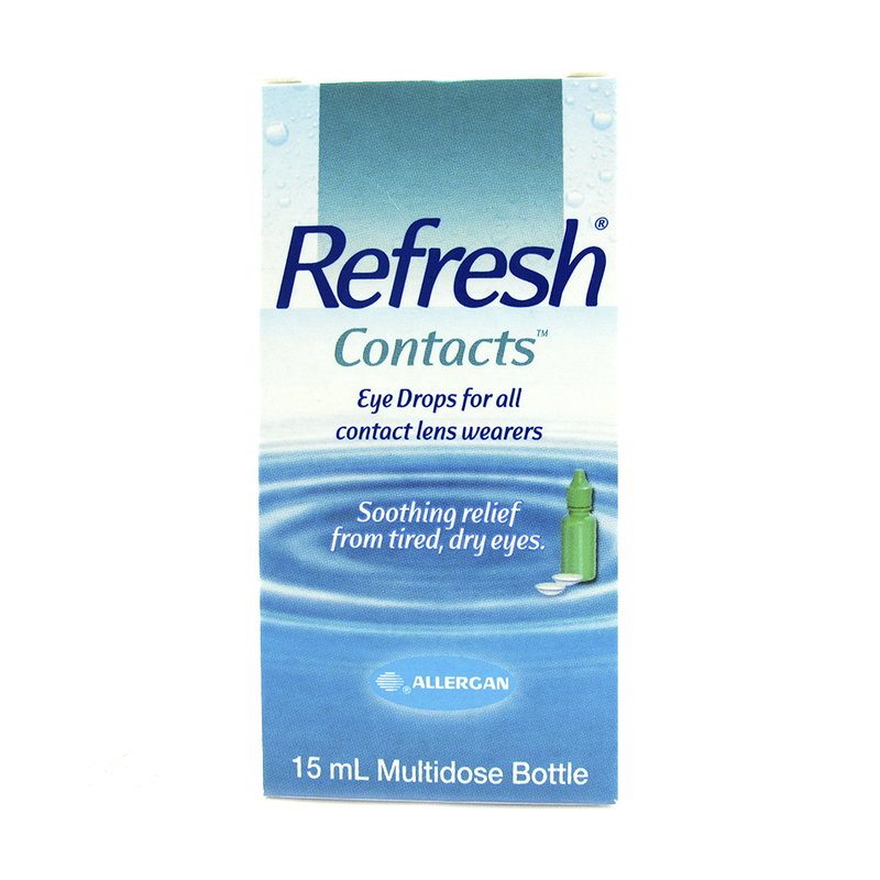 Smith & Nephew Allergan Refresh Contacts, 15ml